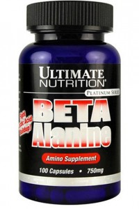 Beta Alanine  750 mg,  100 caps.