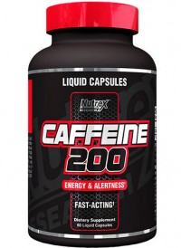 Caffeine 200,   60 liquid caps.