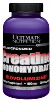 100% Micronized Creatine Monohydrate,  900 mg,  200 caps.