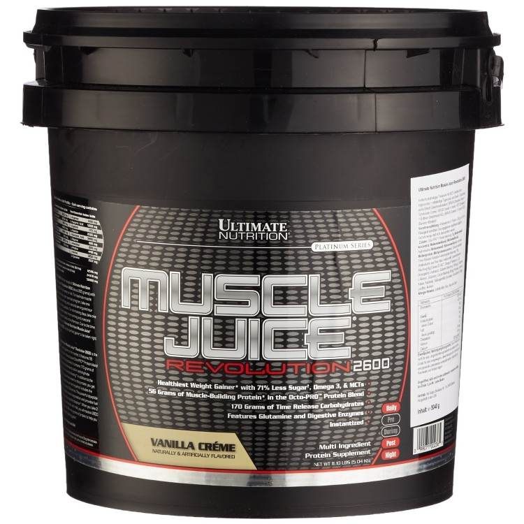 Muscle Juice Revolution 2600,  11,1 lbs.