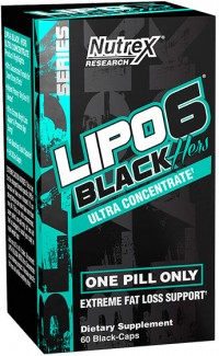 Lipo 6 Black Hers,  Ultra Concentrated,  60 caps.