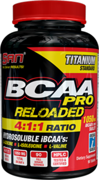 BCAA Reloaded  4:1:1,    90 caps.