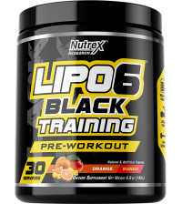 Lipo 6 Black TRAINING, 195 gr.