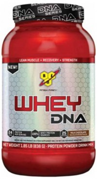 Whey Protein DNA,    1.85 lbs.