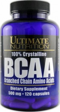 BCAA 500 mg,   120 caps.