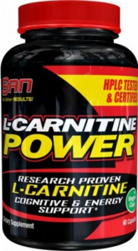 L-Carnitine Power,  60 caps.