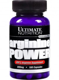 Arginine Power 800 mg,   100 caps.