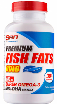 Premium Fish Fats Gold, 60 softgel.