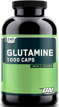 Glutamine 1000 mg,    240 caps