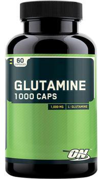 Glutamine 1000 mg,    60 caps