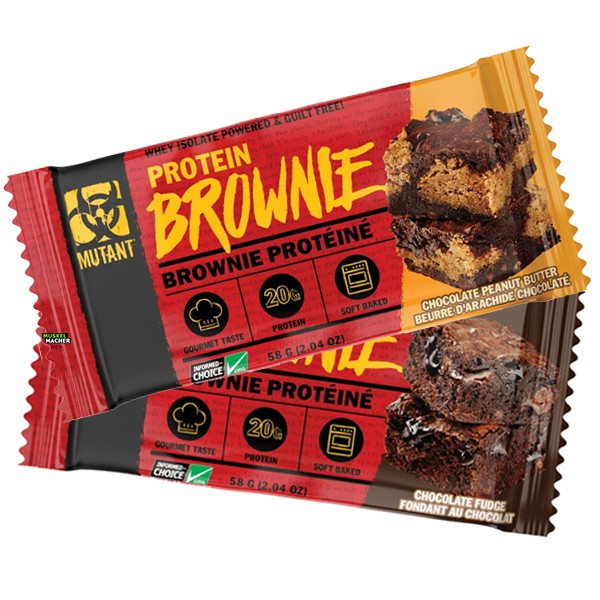 Mutant Protein Brownie,   58 гр.