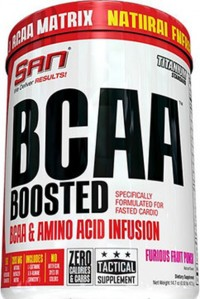 BCAA BOOSTED,    418 gr.