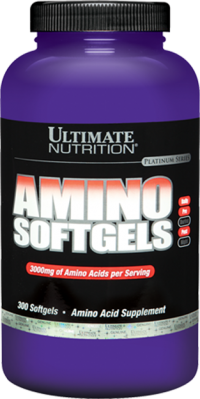 Amino Softgel ,  300 softgel.